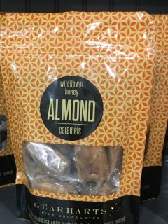 Wildflower Honey Almond Caramels